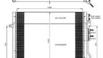 Condensator, climatizare JEEP GRAND CHEROKEE II (W...