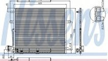 Condensator, climatizare MERCEDES R-CLASS (W251, V...