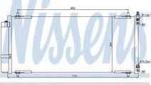 Condensator, climatizare PEUGEOT 607 (9D, 9U) (200...