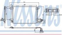 Condensator, climatizare VW GOLF V (1K1) (2003 - 2...