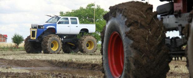 Condu un Monster Truck in Bucuresti! Iata ce trebuie sa faci ca sa zdrobesti alte masini!