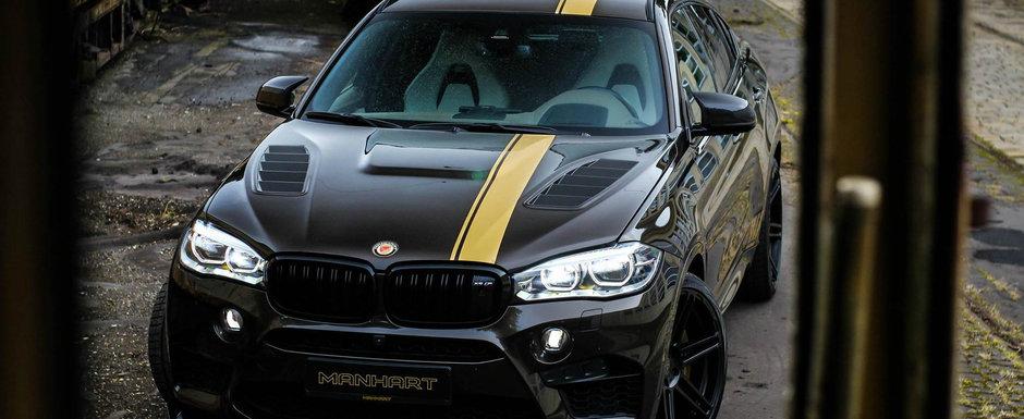 Conduce SUV-ul suprem de la BMW, insa caii din fabrica nu ii mai ajung. Decizia luata de soferul acestui X6 M