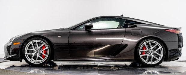 Conduce un Lexus LFA unic in lume si nu i-a facut nici macar rodajul. Acum il vinde cu...