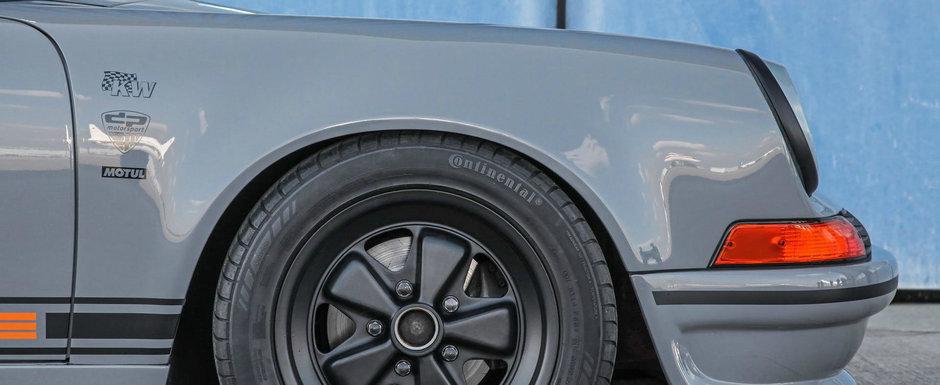 Conduce un Porsche pe care-l tot modifica din anii '90. Acum arata asa, dar nu pentru mult timp