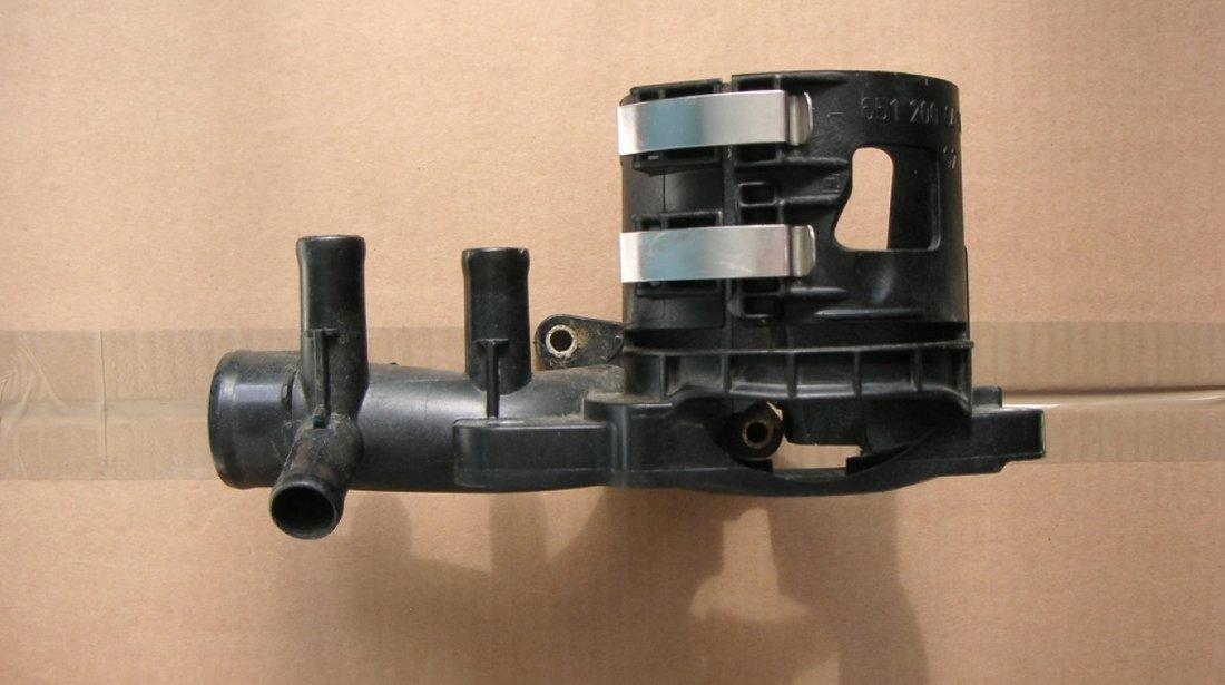 Conducta apa cu suport filtru combustibil Mercedes W204, W211, W212, W218, W222, Sprinter Vito Viano