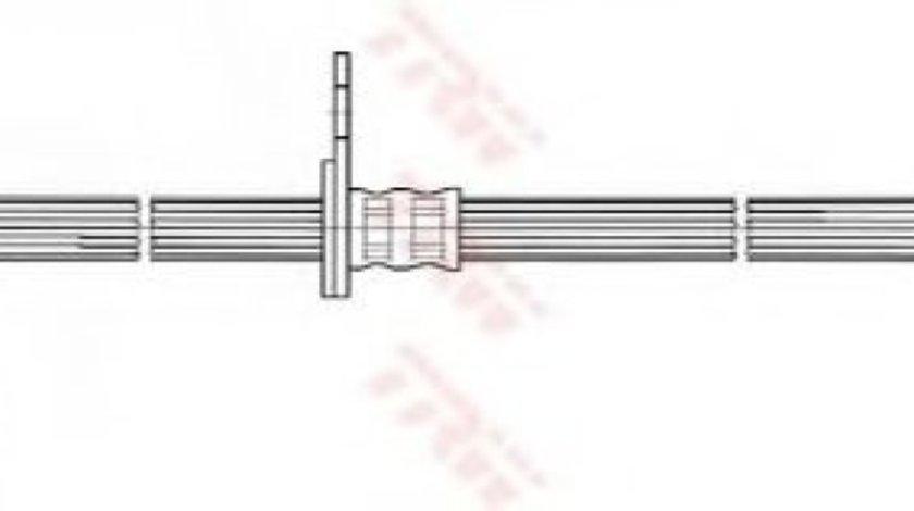 Conducta / cablu frana TOYOTA AVENSIS Combi (T25) (2003 - 2008) TRW PHD533 produs NOU