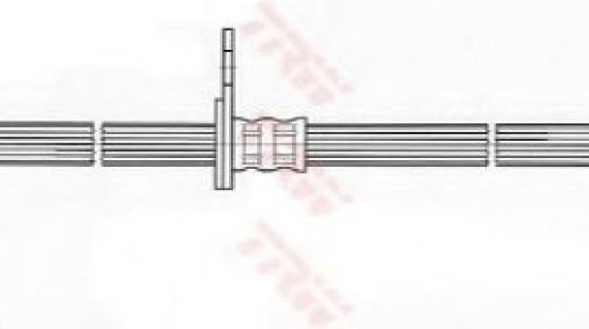 Conducta / cablu frana TOYOTA COROLLA (CDE12, ZZE12, NDE12, ZDE12) (2001 - 2007) TRW PHD534 produs NOU