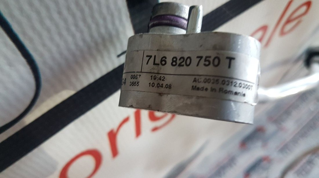 Conducta clima volkswagen touareg 7l 3.0 tdi casc 7L6820750T