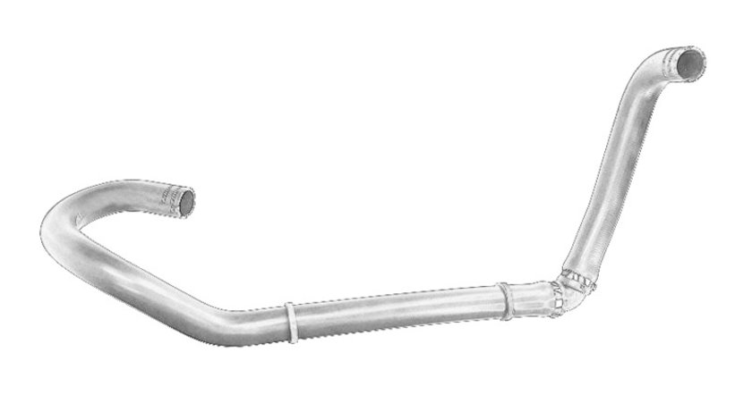 Conducta furtun sistem racire (35mm) IVECO DAILY IV 2.3D/3.0CNG/3.0 d intre 2006-2011