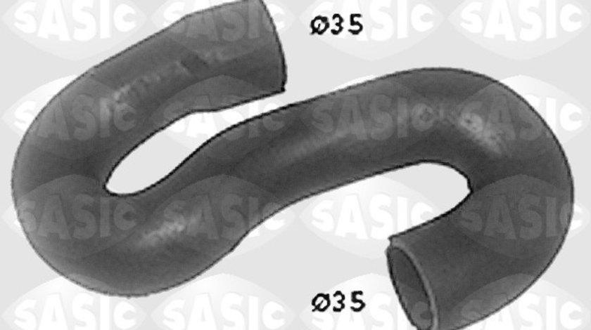 Conducta furtun sistem racire superior (35mm 35mm, fara sistem AC) OPEL CORSA B, TIGRA 1.4 1.6 intre 1993-2000