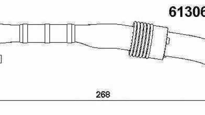 Conducta tubulara Supapa-AGR SEAT LEON 1P1 WAHLER 61306D