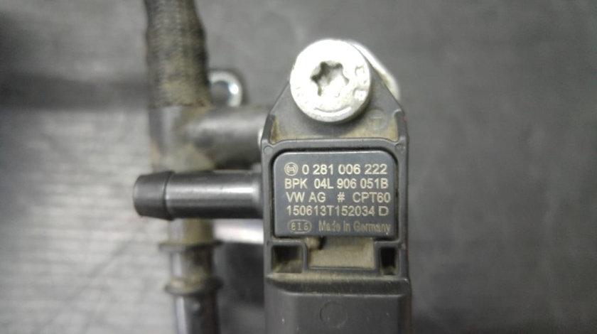 Conducta vacuum cu senzor 2.0 tdi cuw audi q3 04l129456e 04l906051b
