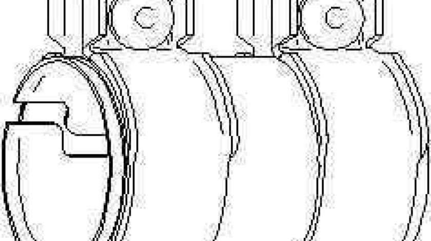 Conector teava sistem de esapament VW PASSAT CC 357 TOPRAN 113 336