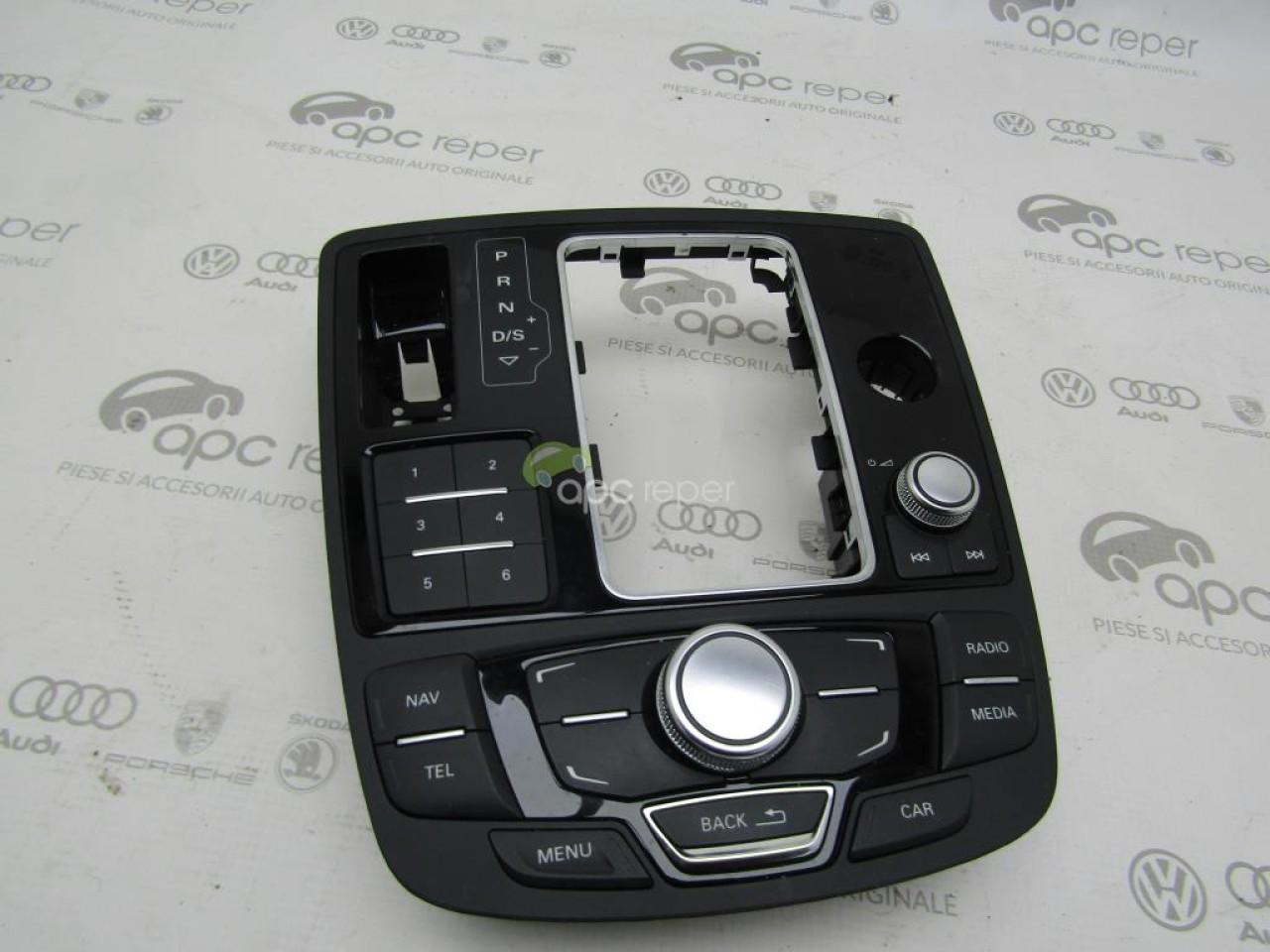 Consola butoane Audi A6 4G / A7 MMI Basic cod 4G1919610B