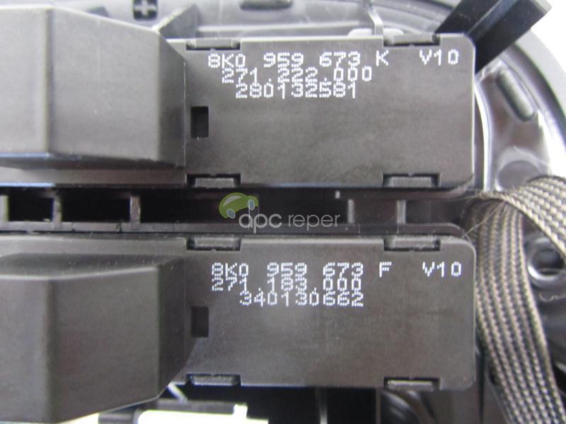 Consola centrala Audi A4 8k, A5 8T Q5 Facelift Originala