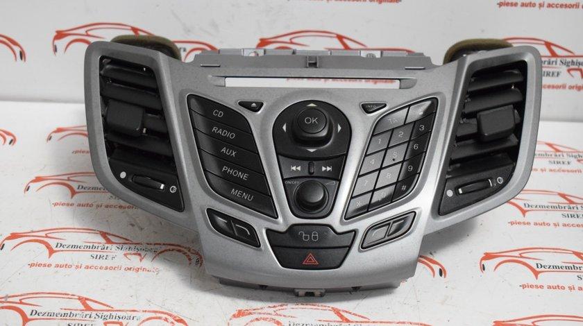 Consola centrala Ford Fiesta 6 1.6 tdci 2008 8A61-18A802-BFW