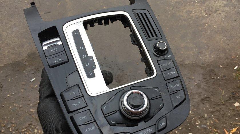 Consola centrala navigatie cu joystick Audi A4 B8 8K 2009 2010 2011 2012