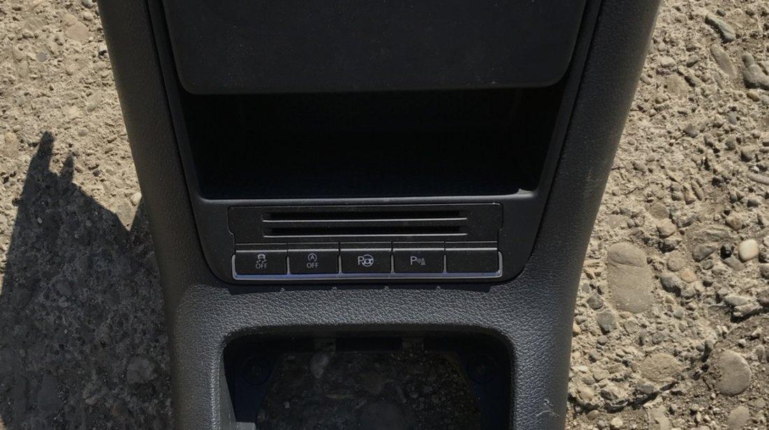 Consola centrala scrumiera Vw Tiguan 2009 2010 2011 2012