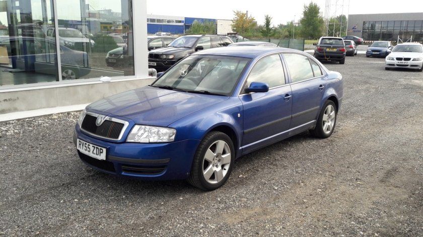 Consola centrala Skoda Superb 2006 Sedan 2.5 TDi