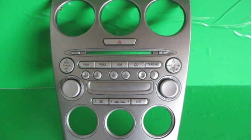 CONSOLA / GRILA CENTRALA BORD / CD PLAYER / RADIO MAZDA 6 FAB. 2002 - 2008 ⭐⭐⭐⭐⭐