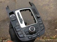 Consola mmi navigatie cu joystick Audi A4 B8 8K 2009 2010 2011 2012