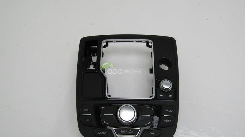 Consola multimedia Audi A6 4G 2.0 TDI an 2011 cod 4G1919615L