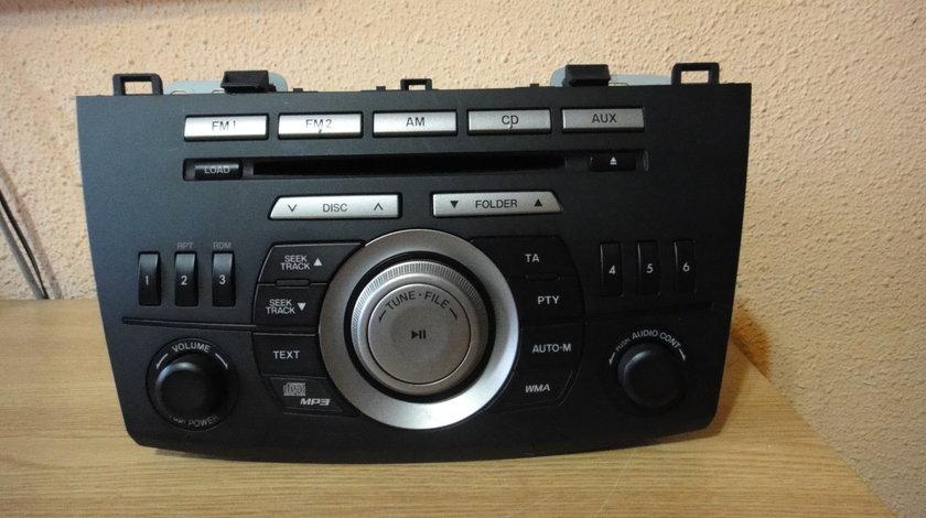 Consola Radio cd mp3 player original mazda 3BL