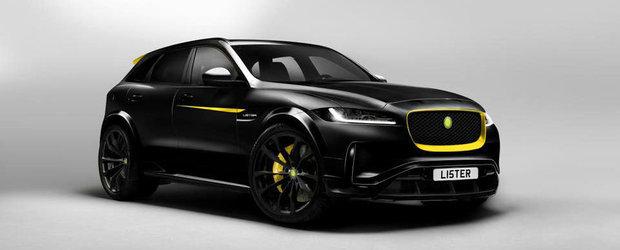 Construiesc un Jaguar F-Pace care sa nu aiba rival in lume. Or fi de ajuns 670 de cai si o viteza de peste 322 km/h?
