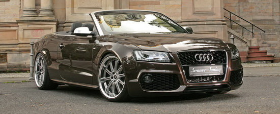 Construit sa impresioneze - Audi A5 Cabrio by Senner Tuning