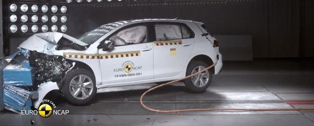 Construit sa-si protejeze pasagerii ca un tanc. Noul VW Golf 8 obtine punctaj maxim la testele Euro NCAP