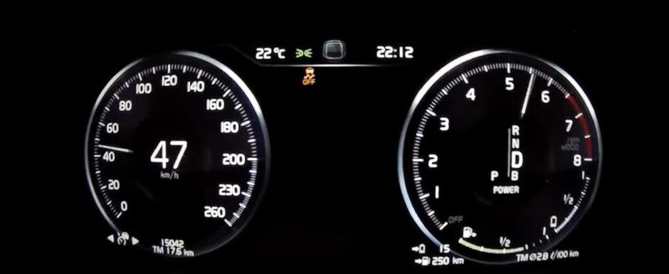 Consuma 2 litri la suta de kilometri si are 407 cai putere. Test de acceleratie cu noul VOLVO XC60 T8