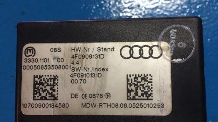 Contact cheie Audi A6 4F0909131D