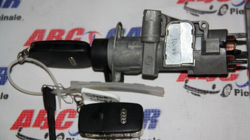 Contact cu cheie Audi A4 B6 8E 2.5 TDI DSG cod: 4B0905851 / 4B0905851B model 2003