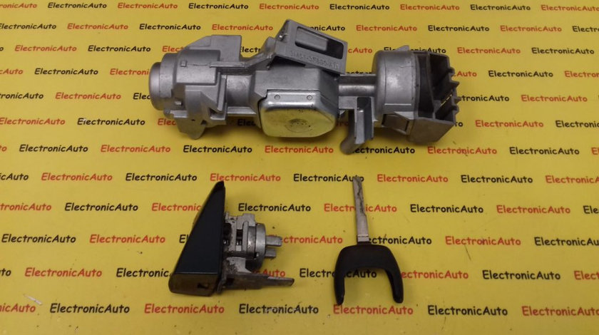 Contact Cu Cheie + Butuc Portiera Ford Focus 2, 3M513F880AD