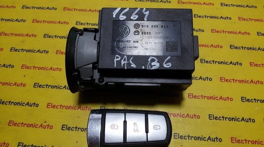 Contact cu cheie VW Passat 3C0905843M
