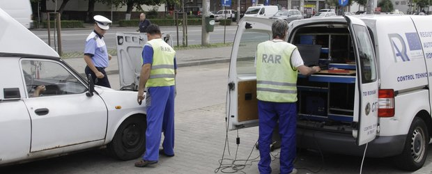 Controalele RAR au identificat peste 20.000 de masini cu probleme in 6 luni