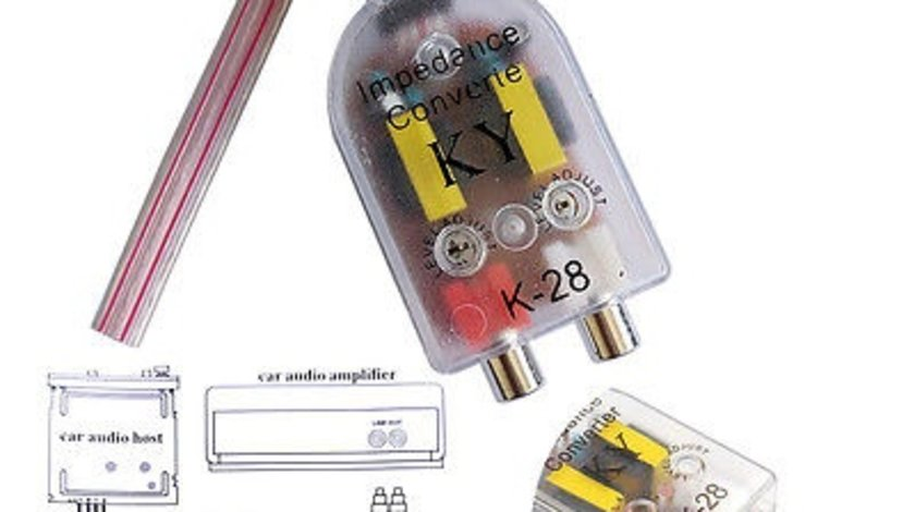 Convertizor nivel semnale audio KA-28 VistaCar