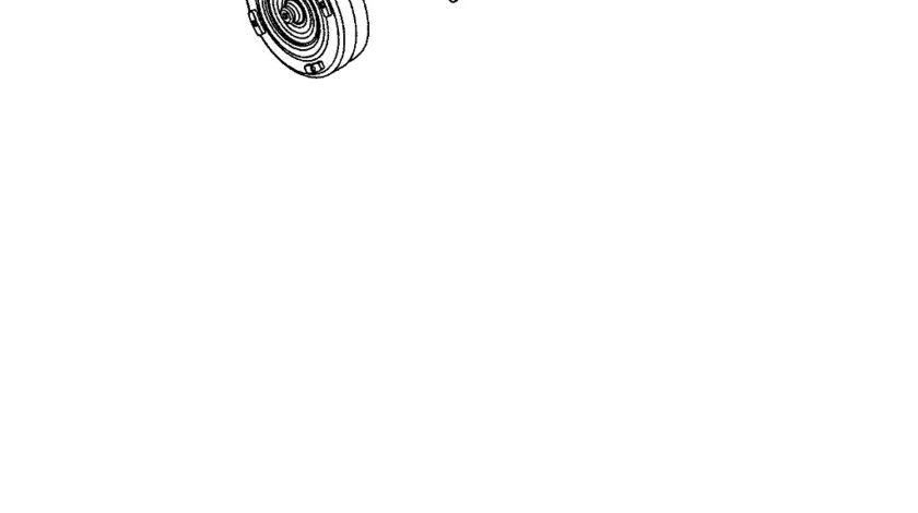 Convertor cuplu cutie viteza Grand Cherokee (poz.2) CHRYSLER OE 04736352AB