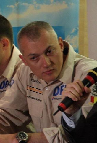 Copilot de ocazie pentru Team Dakar Romania