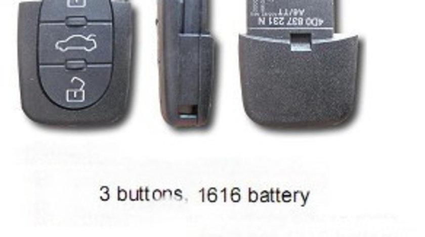 Corp telecomanda 3 butoane Rotunjite BRE118 - CT363737