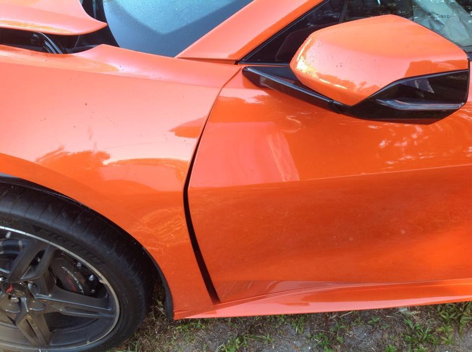 Corvette C8 distrus la doar o zi dupa livrare - Corvette C8 distrus la doar o zi dupa livrare