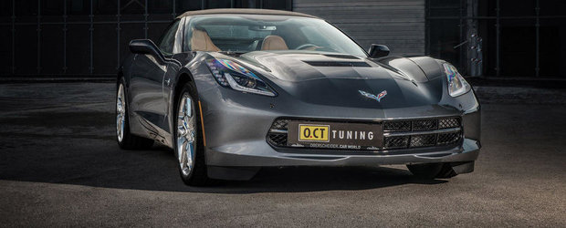 Corvette Stingray by O.CT Tuning: Supraalimentat si cu 630 CP sub capota