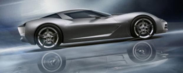 Corvette Stingray Concept dezvaluit in Chicago