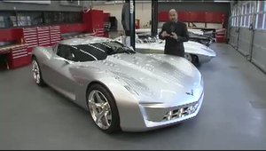Corvette Stingray Concept dezvaluit in Chicago