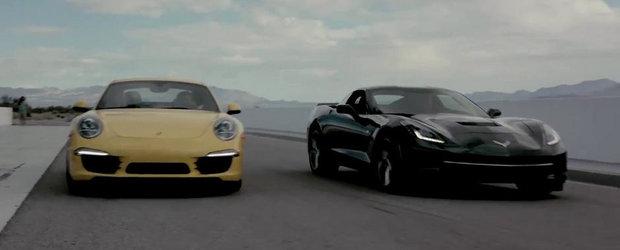 Corvette Stingray sau 991 Carrera S? Chris Harris ne da raspunsul!