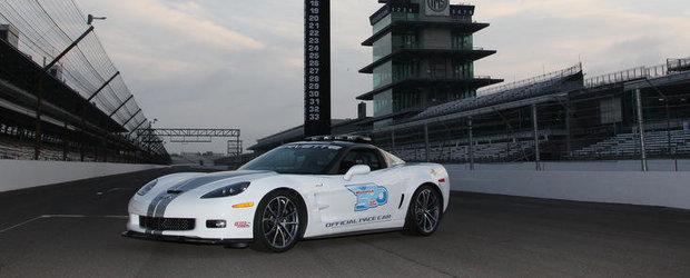 Corvette ZR1 2013 va fi pace-car-ul oficial al celei de a 96-a editii a cursei Indy 500