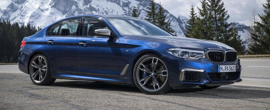 Cosmarul emisiilor continua pentru BMW. Productia lui M550i va fi oprita din cauza noilor teste WLTP