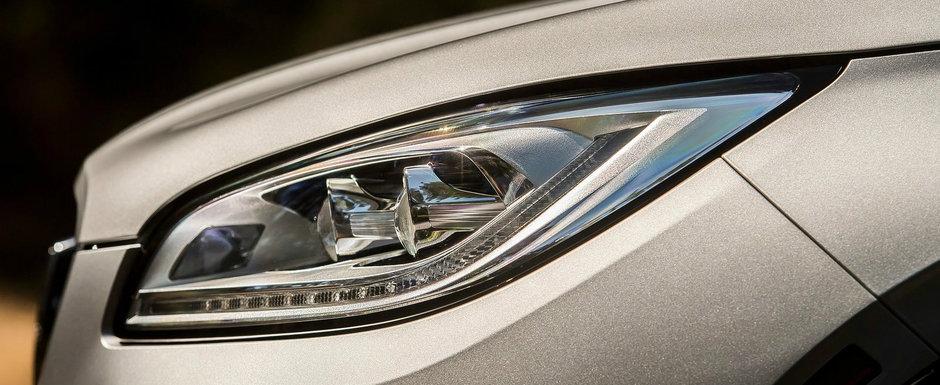 Costa cu 6.000 de dolari mai putin decat un BMW similar, insa are 250 CP sub capota. In plus, farurile LED sunt standard