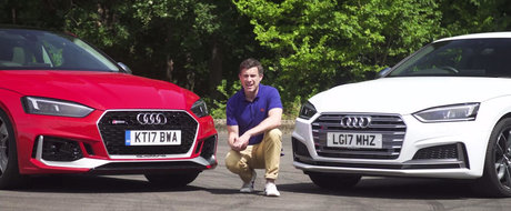 Costa cu vreo 13 mii mai mult, insa merita banii in plus? Test comparativ intre Audi S5 si RS5 Coupe