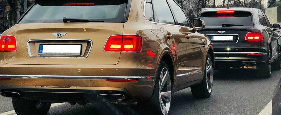 Costa o avere, dar e plina Romania de ele: Poze de pe strazile patriei cu toate masinile Bentley Bentayga
